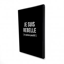 Framed 24 x 36 - 3D - I'm rebellious