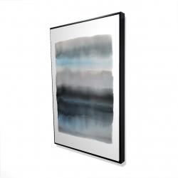 Framed 24 x 36 - 3D - Shade of blue
