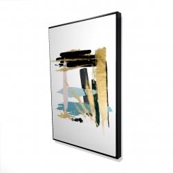 Framed 24 x 36 - 3D - Pastel stroke