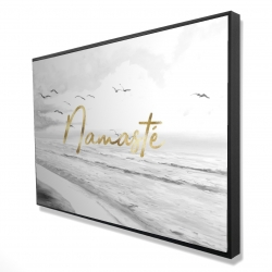 Framed 24 x 36 - 3D - Namaste