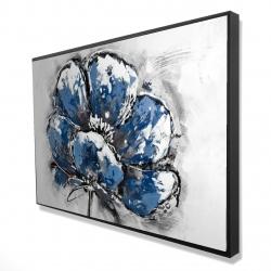 Framed 24 x 36 - 3D - Small flower