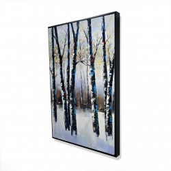 Framed 24 x 36 - 3D - Frosted trees