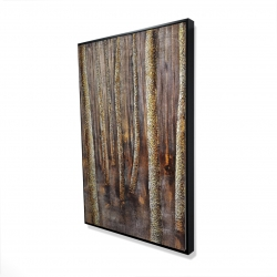 Framed 24 x 36 - 3D - The dark forest