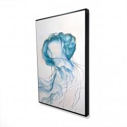 Framed 24 x 36 - 3D - Jellyfish moving