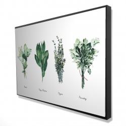 Framed 24 x 36 - 3D - Fine herbs