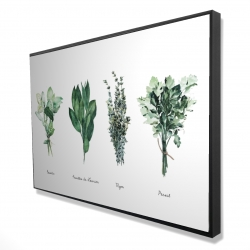 Framed 24 x 36 - 3D - Fines herbes