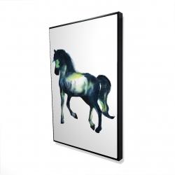 Framed 24 x 36 - 3D - Elegant horse