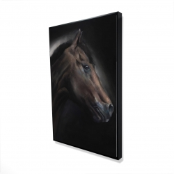 Framed 24 x 36 - 3D - Loneliness horse