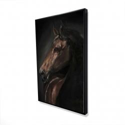 Framed 24 x 36 - 3D - Spirit the horse