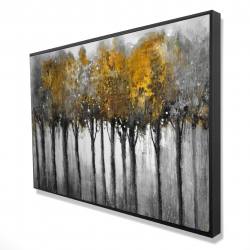 Framed 24 x 36 - 3D - Illuminated forest