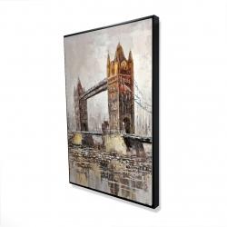 Framed 24 x 36 - 3D - London tower bridge