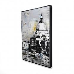 Framed 24 x 36 - 3D - Basilica of santa maria della salute
