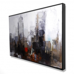 Framed 24 x 36 - 3D - Obscure city