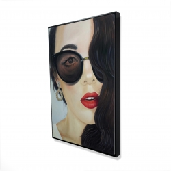 Framed 24 x 36 - 3D - Fashionable sunglasses