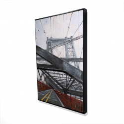 Framed 24 x 36 - 3D - Bridge architecture