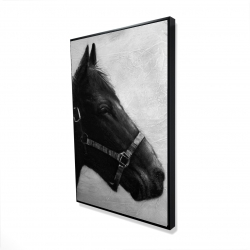 Framed 24 x 36 - 3D - Gallopin the horse