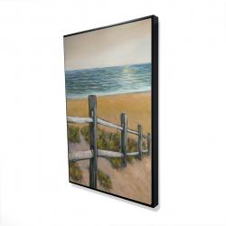 Framed 24 x 36 - 3D - Quiet seaside