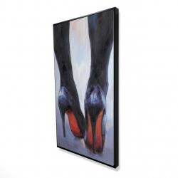 Framed 24 x 48 - 3D - Long legs with high heels