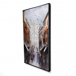 Framed 24 x 48 - 3D - Historic place