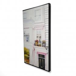Framed 24 x 48 - 3D - West coast houses
