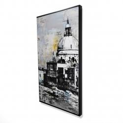 Framed 24 x 48 - 3D - Basilica of santa maria della salute