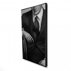 Framed 24 x 48 - 3D - Businessman