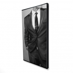 Framed 24 x 48 - 3D - Man in a great costume