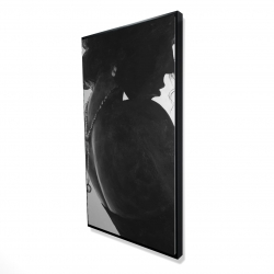 Framed 24 x 48 - 3D - Chic woman with jewels