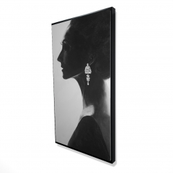 Framed 24 x 48 - 3D - Chic woman