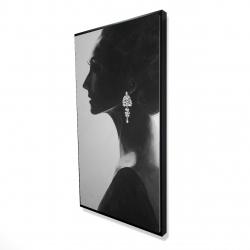 Framed 24 x 48 - 3D - Chic woman