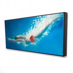 Framed 24 x 48 - 3D - Diving jump