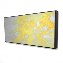 Framed 24 x 48 - 3D - Gold erosion