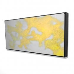 Framed 24 x 48 - 3D - Gold stains