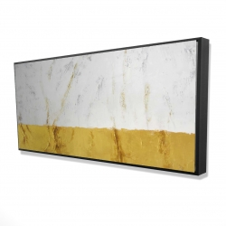 Framed 24 x 48 - 3D - Golden shine