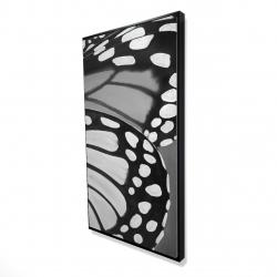 Framed 24 x 48 - 3D - Butterfly wings closeup