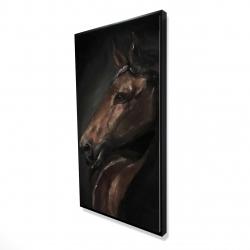 Framed 24 x 48 - 3D - Spirit the horse