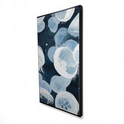 Framed 24 x 48 - 3D - Jellyfishs