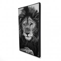 Framed 24 x 48 - 3D - The lion king
