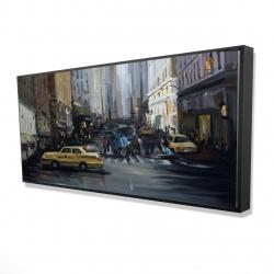Framed 24 x 48 - 3D - In the city