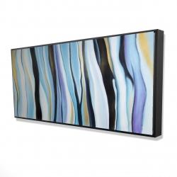Framed 24 x 48 - 3D - Blue mood