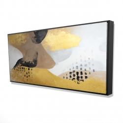 Framed 24 x 48 - 3D - Improvisation