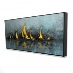 Framed 24 x 48 - 3D - Set sail