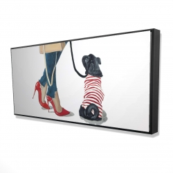 Framed 24 x 48 - 3D - Best friends fashion