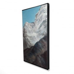 Framed 24 x 48 - 3D - Emblematic himalayan peaks