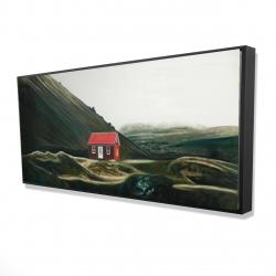 Framed 24 x 48 - 3D - Isolated shack