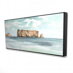 Framed 24 x 48 - 3D - Rocher percé