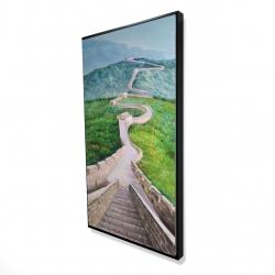 Framed 24 x 48 - 3D - Great wall of mutianyu