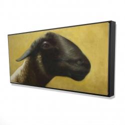 Framed 24 x 48 - 3D - Young ram