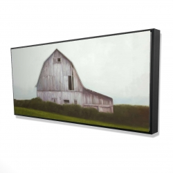Framed 24 x 48 - 3D - Rustic barn