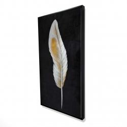 Framed 24 x 48 - 3D - Feather